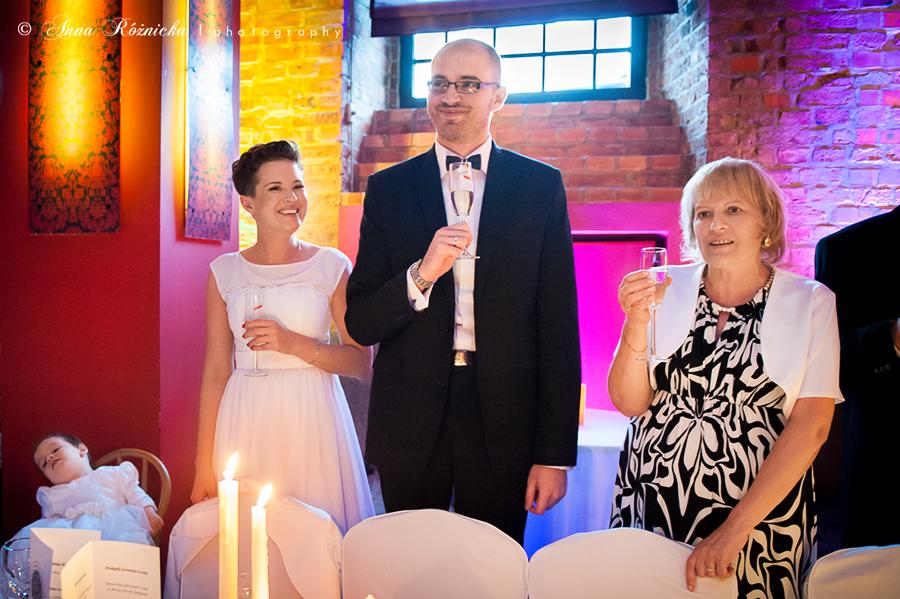 Fotografia ślubna - przyjęcie weselne
