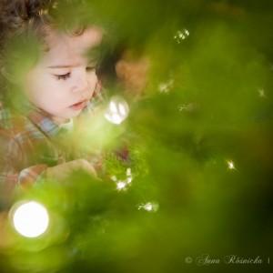 Fotografia dziecięca i rodzinna - sesja świąteczna