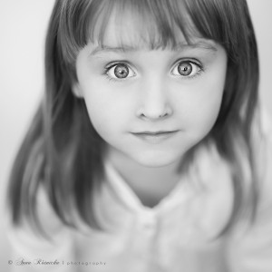 fotografia dziecięca - portret BW