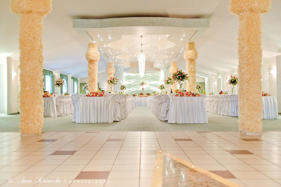 fotografia ślubna przyjęcie